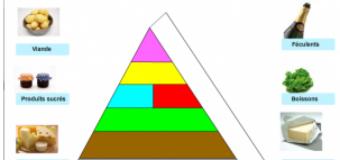 La pyramide alimentaire – ressource, activité TBI-TNI