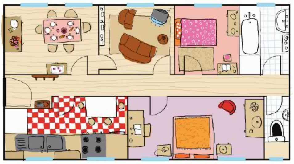 Appartement Social