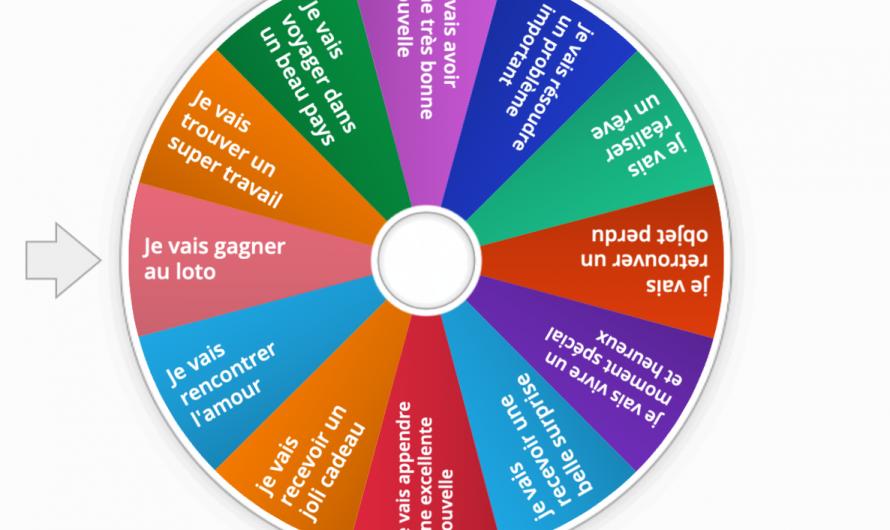La roue du futur (proche) ou la roue du bonheur