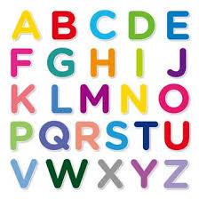 L'alphabet, écoutez et répétez
