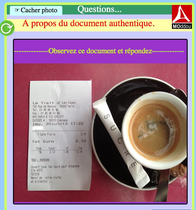 L'addition s'il vous plaît : un petit café à Paris