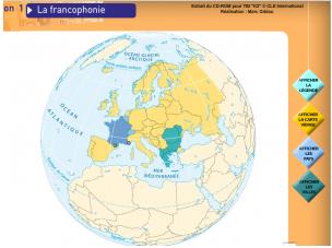 TBI : la Francophonie, ville et pays