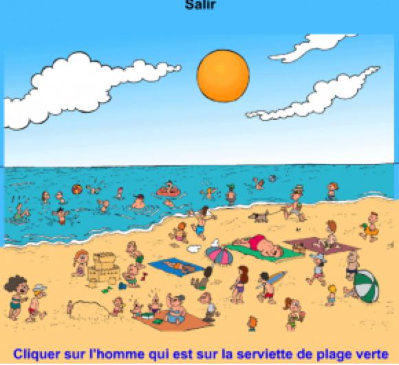 Un peu de plage et de soleil !